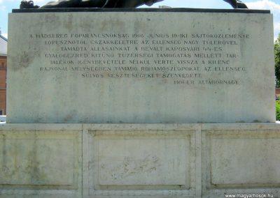 Kaposvár 44-es gyalogezred emlékműve 2016.07.19. küldő-Emese (12)