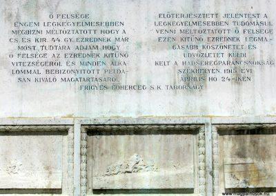 Kaposvár 44-es gyalogezred emlékműve 2016.07.19. küldő-Emese (6)