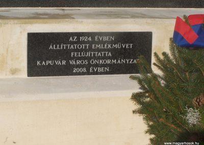 Kapuvár I.vh emlékmű 2009.11.15. küldő-Horváth Zsolt (2)