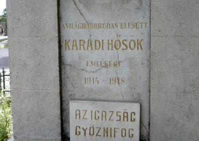 Karád I.vh emlékmű 2010.05.28. küldő-Sümec (3)