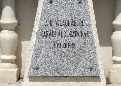 Karád II.vh emlékmű 2010.05.28. küldő-Sümec (1)