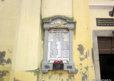 Karcag I. világháborús emléktábla 2013.05.25. küldő-kalyhas (3)