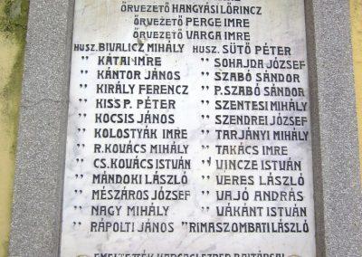 Karcag I. világháborús emléktábla 2013.05.25. küldő-kalyhas (4)