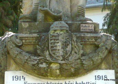 Karmacs I. világháborús emlékmű 2013.04.14. küldő-Sümec (4)