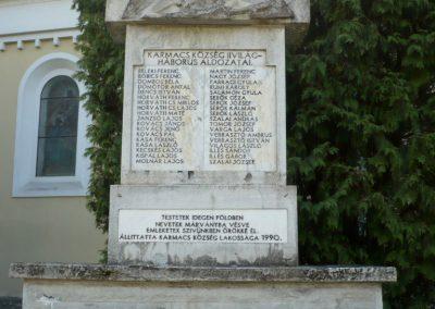 Karmacs II. világháborús emlékmű 2013.04.14. küldő-Sümec (2)