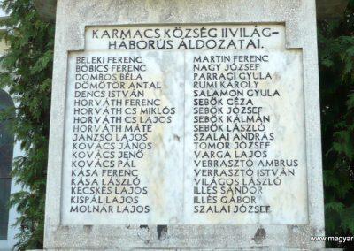 Karmacs II. világháborús emlékmű 2013.04.14. küldő-Sümec (4)