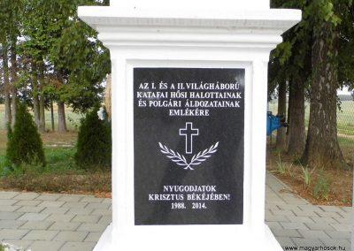 Katafa világháborús emlékmű 2015.10.05. küldő-Méri (2)