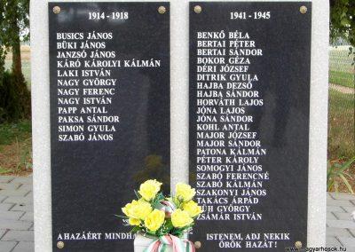 Katafa világháborús emlékmű 2015.10.05. küldő-Méri (4)