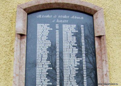 Katymár világháborús emléktáblák 2007.12.08. küldő-Markó Péter (5)