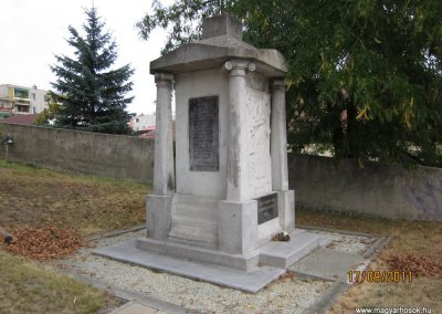 Kazincbarcika - Sajókazinc világháborús emlékmű 2011.09.17. küldő-kalyhas (3)