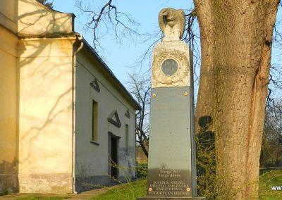 Kazsok világháborús emlékmű 2016.03.20. küldő-Huber Csabáné (2)