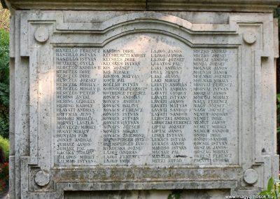 Kecel I.világháborús emlékmű 2012.08.31. küldő-Baloghzoli (4)