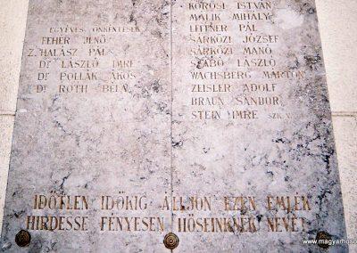 Kecskemét Izraelita temető I. világháborús emléktábla 2010. küldő-Emese (2)