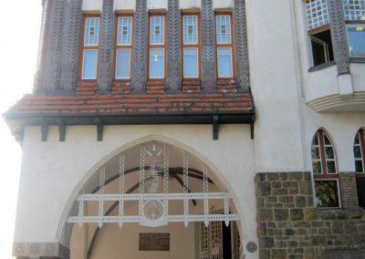 Kecskemét Református Kollégium I. világháborús emléktábla a joghallgatók emlékére 2018.09.20. küldő-Bali Emese
