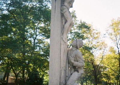 Kecskemét Szentháromság kegyeleti temető I. világháborús emlékhely 2010. küldő-Emese (4)