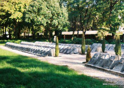 Kecskemét Szentháromság kegyeleti temető I. világháborús emlékhely 2010. küldő-Emese