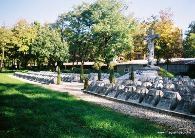 Kecskemét Szentháromság kegyeleti temető I. világháborús emlékhely 2010. küldő-Emese (5)