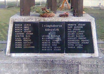 Kehidakustány-Kehida világháborús emlékmű 2011.02.04. küldő-Szilsomogy (1)