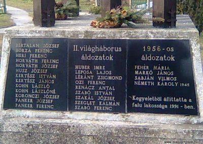 Kehidakustány-Kehida világháborús emlékmű 2011.02.04. küldő-Szilsomogy (3)