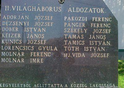 Kehidakustány világháborús emlékmű 2010.08.10. küldő-Csiszár Lehel (3)