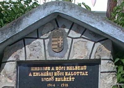 Kelemér világháborús emlékmű 2011.06.04. küldő-Pataki Tamás (1)