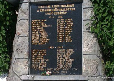 Kelemér világháborús emlékmű 2011.06.04. küldő-Pataki Tamás (2)