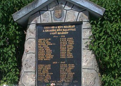 Kelemér világháborús emlékmű 2011.06.04. küldő-Pataki Tamás (3)