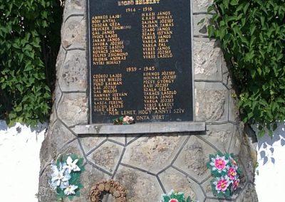 Kelemér világháborús emlékmű 2011.06.04. küldő-Pataki Tamás