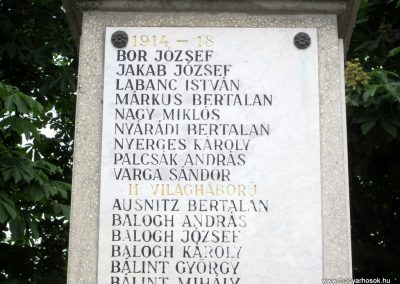 Kemecse világháborús emlékmű 2013.05.23. küldő-kalyhas (4)