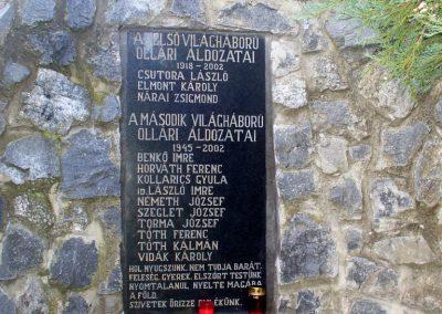 Kemendollár ollári temető világháborús emlékmű 2013.11.16. küldő-HunMi (1)