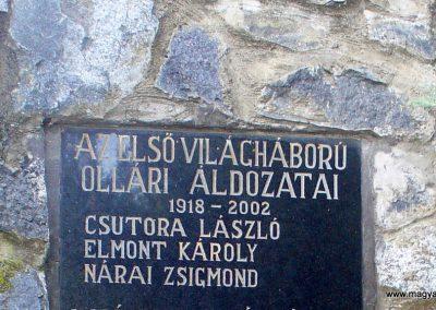 Kemendollár ollári temető világháborús emlékmű 2013.11.16. küldő-HunMi (2)