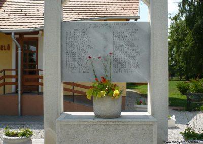 Kemenespálfalva világháborús emlékmű 2009.07.01.küldő-Sümec (2)
