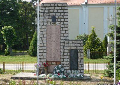 Kemenesszentpéter világháborús emlékmű 2009.05.15. küldő-Sümec (1)