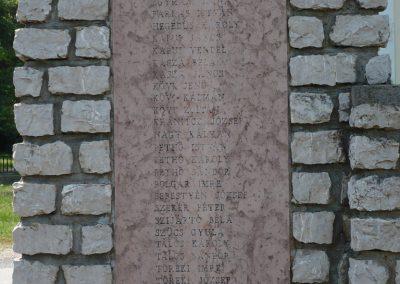 Kemenesszentpéter világháborús emlékmű 2009.05.15. küldő-Sümec (3)