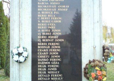Kenézlő világháborús emlékmű 2009.12.05. küldő-Ágca (2)