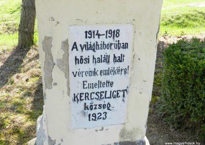 Kercseliget I. világháborús emlékmű 2016.03.20. küldő-Huber Csabáné (2)
