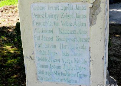Kercseliget I. világháborús emlékmű 2016.03.20. küldő-Huber Csabáné (3)