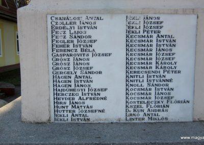 Kerecsend világháborús emlékmű 2019.02.13. küldő-kalyhas (14)