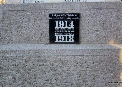 Kerecsend világháborús emlékmű 2019.02.13. küldő-kalyhas (9)
