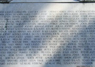 Kerekegyháza világháborús emlékmű 2007.10.16.küldő-Markó Péter (2)