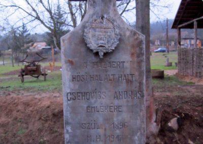 Keresztéte I. világháborús emlékhely 2014.02.15. küldő-kalyhas (4)