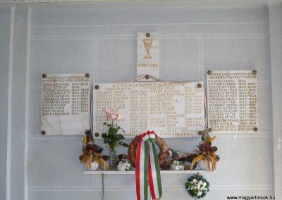 Kerkafalva;Alsószenterzsébet;Ramocsa II.vh emléktábla 2009.11.17. küldő-Sümec