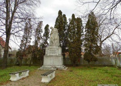 Keszegfalva I. világháborús emlékmű