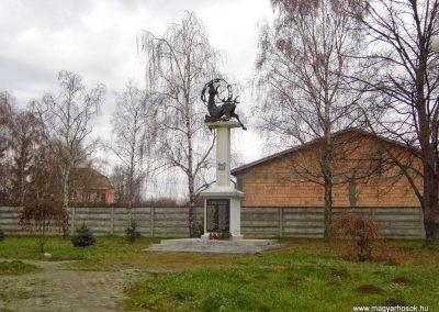 Keszegfalva II. világháborús emlékmű