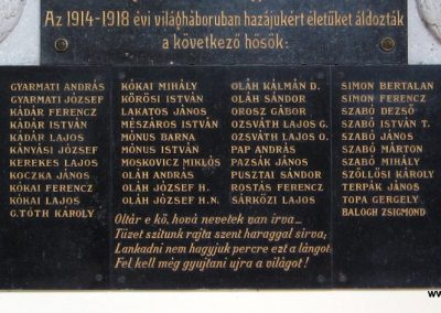 Kesznyéten I.vh emléktábla a templomban 2007.09.24. küldő-kalyhas (2)