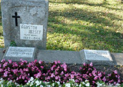 Keszthely II. világháborús katona sírkert 2013.10.04. küldő-Sümec (4)