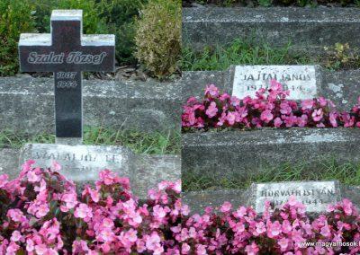 Keszthely II. világháborús katona sírkert 2013.10.04. küldő-Sümec (9)