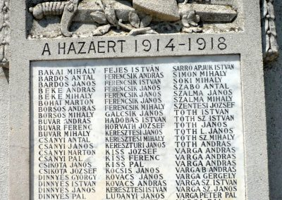 Királyhegyes világháborús emlékmű 2012.07.13. küldő-Sümec (3)