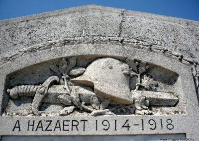 Királyhegyes világháborús emlékmű 2012.07.13. küldő-Sümec (4)