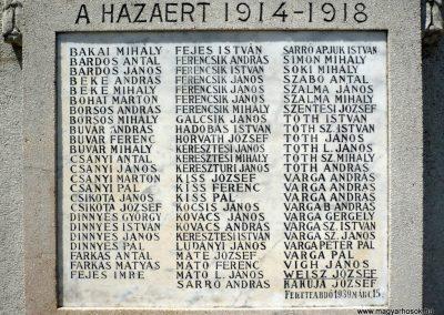Királyhegyes világháborús emlékmű 2012.07.13. küldő-Sümec (5)